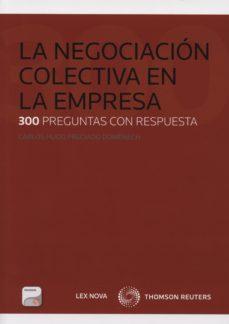 Portada de La Negociacion Colectiva En La Empresa