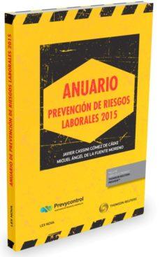 Portada de Anuario Prevencion De Riesgos Laborales 2015