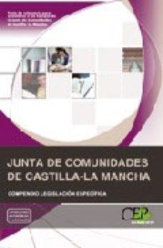 Portada de Compendio Legislacion Especifica Oposiciones Junta De Comunidades De Castilla-la Mancha