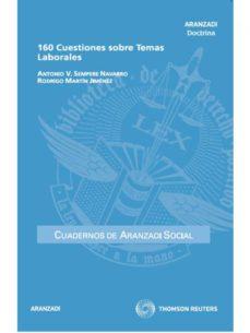 Portada de 160 Cuestiones Sobre Temas Laborales