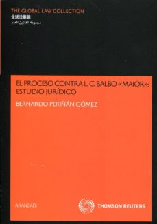 Portada de Proceso Contra L.c. Balbo Maior: Estudio Juridico
