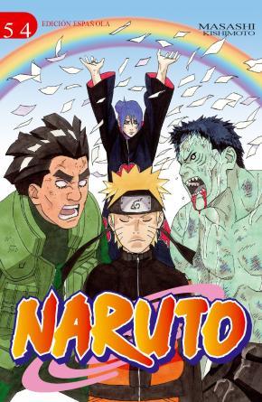 Portada de Naruto Nº 54 (de 72) (edt)