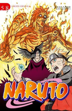 Portada de Naruto Nº 58 (de 72) (edt)