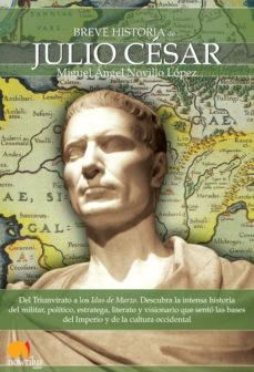 Portada de Breve Historia De Julio Cesar