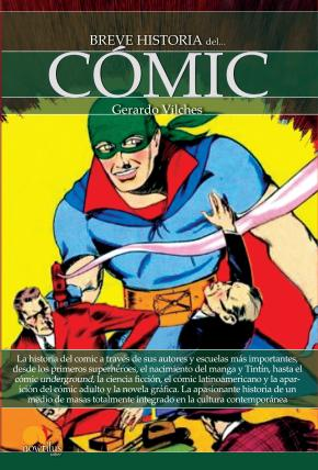 Portada de Breve Historia Del Comic