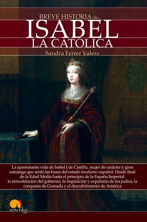 Portada de Breve Historia De Isabel La Catolica