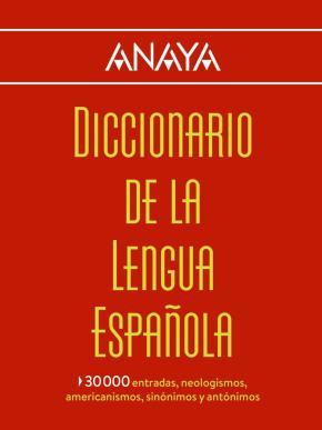 Portada de Diccionario Anaya De La Lengua