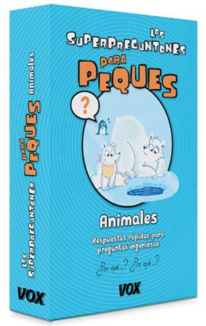 Portada de Los  Superpreguntones Para Peques : Animales