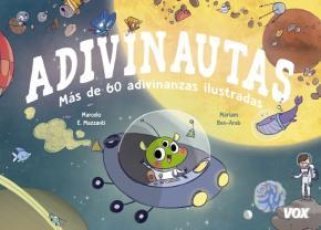 Portada de Adivinautas: 60 Adivinanzas Ilustradas