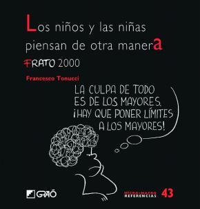 Portada de Los Niños Y Las Niñas Piensa De Otra Manera: Frato 2000