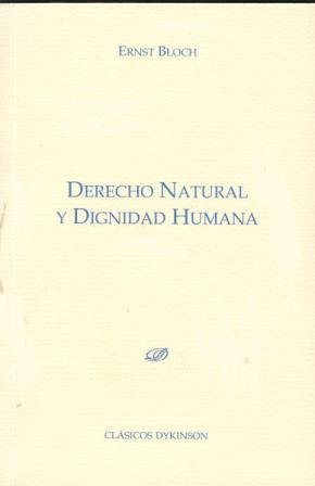 Portada de Derecho Natural Y Dignidad Humana