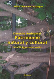 Portada de Derecho Ambiental. Patrimonio Natural Y Cultural. Mas Alla De Su Conservacion. 2ª Ed. Actualizada