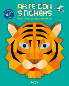 Portada de Arte Con Stickers – Tigre