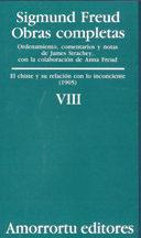 Portada de Obras Completas (vol. Viii): El Chiste Y Su Relacion Con Lo Incon Sciente (1905)
