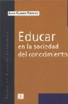 Portada de Educar En La Sociedad Del Conocimiento