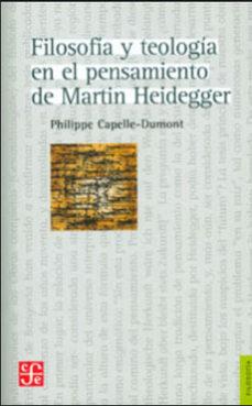 Portada de Filosofia Y Teologia En El Pensamiento De Martin Heidegger