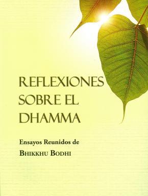 Portada de Reflexiones Sobre El Dhamma
