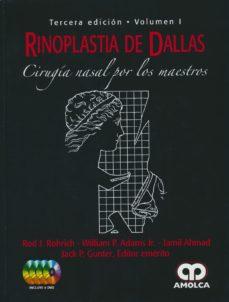 Portada de Rinoplastia De Dallas: Cirugia Nasal Por Los Maestros (2 Vols.) (3ª Ed.)