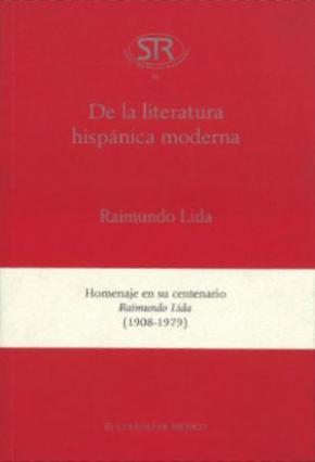 Portada de De La Literatura Hispanica Moderna
