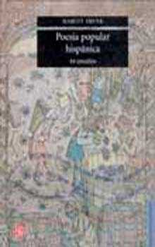 Portada de Poesia Popular Hispanica: 44 Estudios