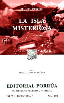 Portada de La Isla Misteriosa (10ª Edicion)