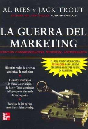 Portada de La Guerra Del Marketing (ed. Conmemorativa 20 Aniversiario)