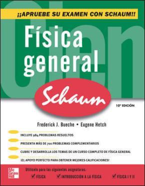 Portada de Fisica General (serie Schaum S)