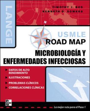 Portada de Usmle Road Map Para Microbiologia