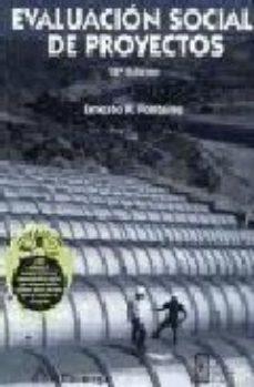Portada de Evaluacion Social De Proyectos (12ª Ed.)
