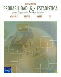 Portada de Probabilidad Y Estadistica Para Ingenieria Y Ciencias
