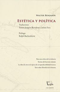 Portada de Estetica Y Politica