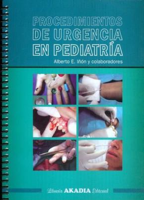 Portada de Procedimientos De Urgencia En Pediatria