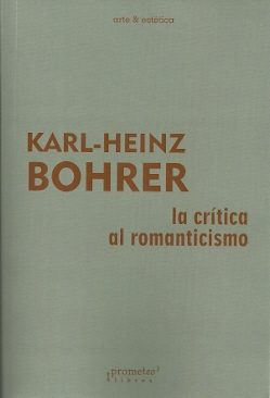 Portada de La Critica Al Romanticismo