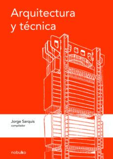 Portada de Arquitectura Y Tecnica