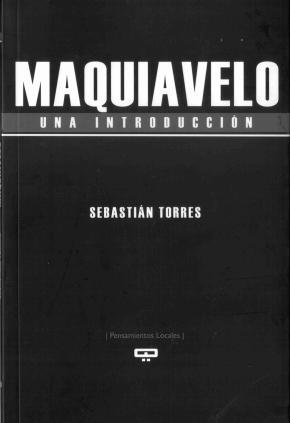 Portada de Maquiavelo: Una Introduccion